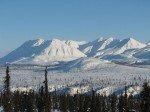 Chugach Mountains (une infime partie de la chaîne longue de 500 kilomètres).