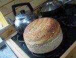 Le pain des géants, cuit au four à bois.