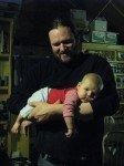 Timothy, 2 mois. Un bon gros bébé de 6,5kg déjà!