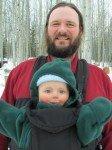 Timo, de retour en Alaska, après une bonne balade par -10°C.