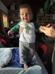 Little Timothy, le jour de son 5°mois!