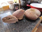 Le pain au levain de Matt! De quoi faire rougir plus d'un boulanger! C'est du 100% bio, 100% délicieux!