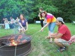 Barbecue familiale.