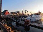 Coucher de soleil sur Oceanside.