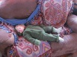 Le sommeil du juste, au retour d'une balade.